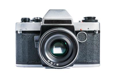中古のカメラ